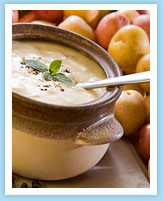 Healthy Creamy Potato Soup
